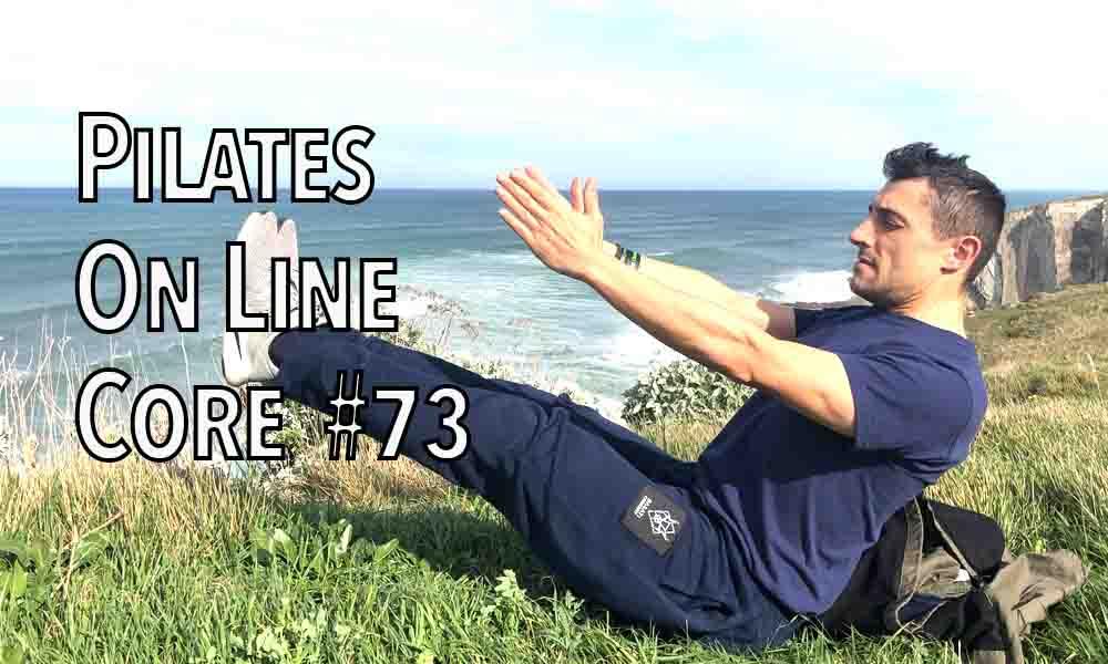 Pilates online core 73