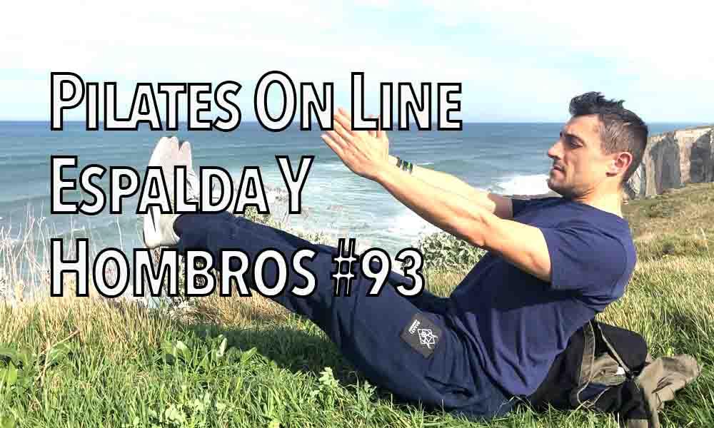 pilates on line 93 espalda hombro