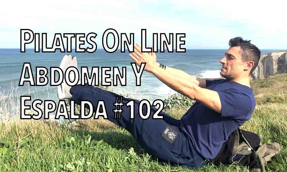 pilates on line abdomen y espalda 102