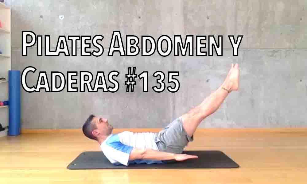 pilates 135 abdomen y cadera