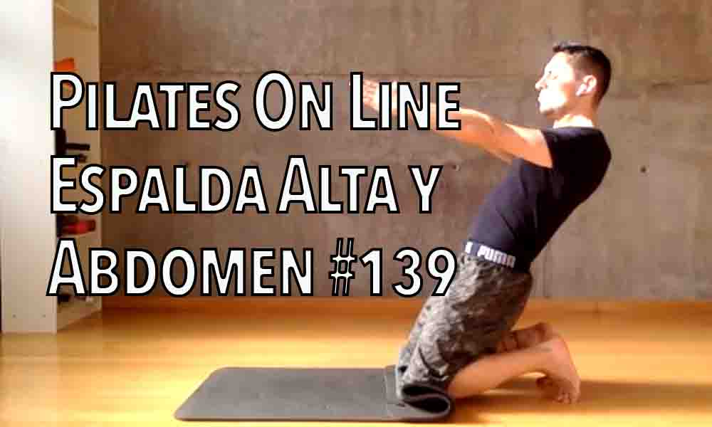 pilates 139 espalda alta y abdomen