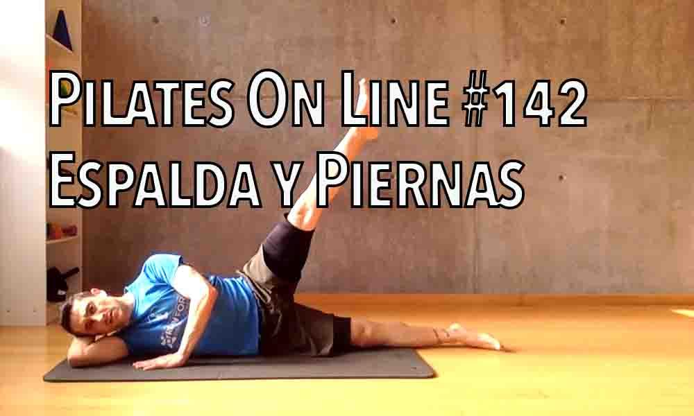 pilates 142 espalda y piernas