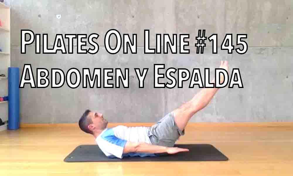 pilates 145 abdomen y espalda alta